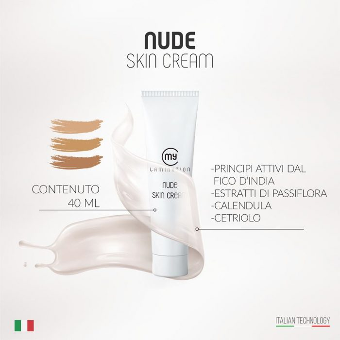 """Nude Skin Cream"" Light"