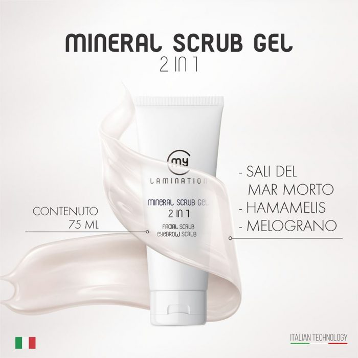 Mineral Scrub 2 en 1, 75 ml / pcs
