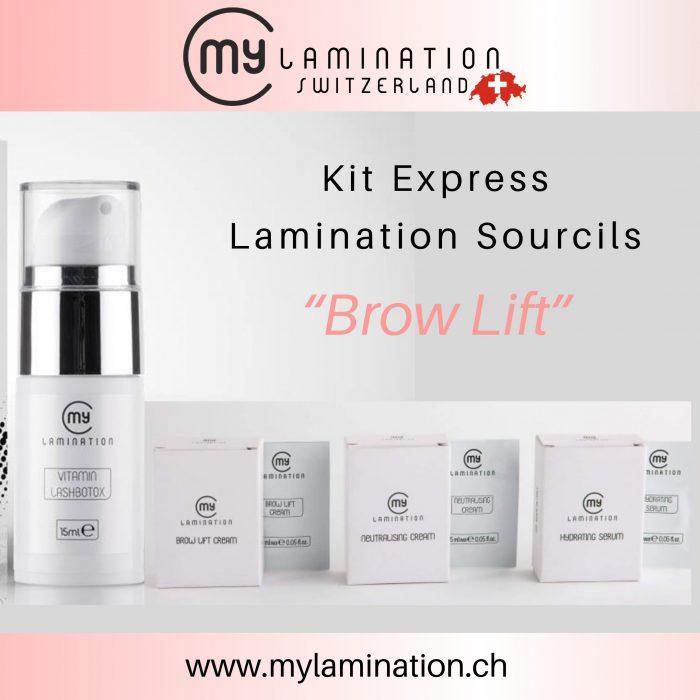 Kit Express Lamination Sourcils My Lamination