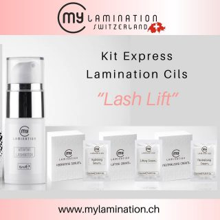 Kit Express Lamination cils MyLamination🤍