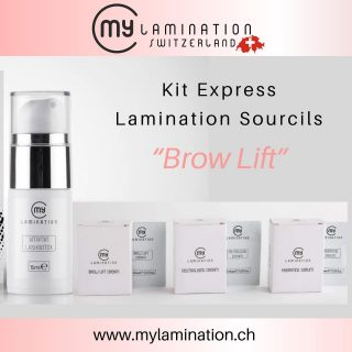 Kit Brow Lift / Lamination Sourcils My Lamination Vitamine LashBotox 15 ml Brow Lifting Crème 1.5ml (5 sachets) Neutralising Crème 1.5ml (5 sachets) Hydrating Sérum 1.5ml (5 sachets) #browliftbotox #browliftswitzerland #browliftlausanne