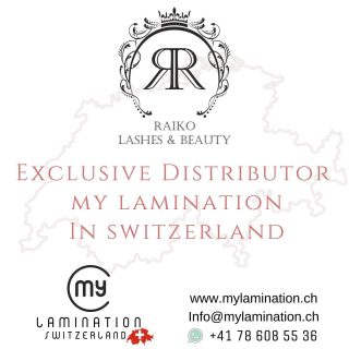 Raiko Lashes & Beauty - Exclusive Distributor MyLamination in Switzerland 🤍 www.mylamination.ch