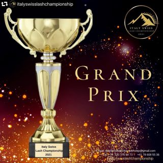Participez au @italyswisslashchampionship et gagnez le GRAND PRIX!!!  #repost @italyswisslashchampionship ・・・ SPECIAL NOMINATION- GRAND PRIX ITALY SWISS LASH CHAMPIONSHIP 2021  BY TAKING PART IN 4 NOMINATIONS OR MORE YOU WILL BE AUTOMATICALLY ACCREDITED FOR GRAND PRIX NOMINATION.  THE COMPETITOR WHO COLLECTS THE MOST NUMBER OF POINTS WILL RECEIVE * 400€ * A SPECIAL PRIZE FROM BRAND SWISS LASHES, * GRAND PRIX SPECIAL TROPHY.  SPECIAL BONUS FOR ALL PARTICIPANTS PARTICIPATING IN 4 NOMINATIONS IS A SPECIAL GIFT FROM BRAND SWISS LASHES (Switzerland), MARY LASHES ( Italy).