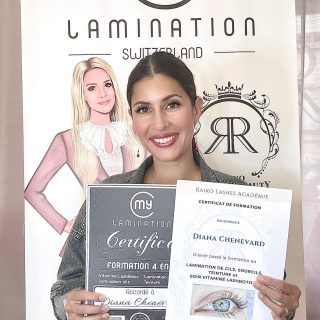 New Star in MyLamination Family ♥️♥️♥️  #mylamination #mylaminationswitzerland #lashliftraining #formationextensioncils